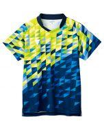 VICTAS,卓球,ユニフォーム,ゲームシャツ,セットアップ,V-GS220,RD×BL,レッド×ブルー