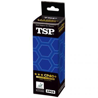 CP40+ ITTF 3*** 3er
