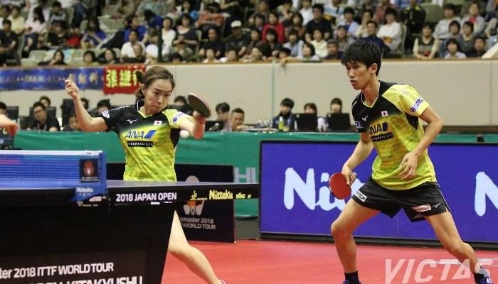 ライオン卓球ジャパンオープン荻村杯 大会4日目【PICK UP】ダブルス準決勝