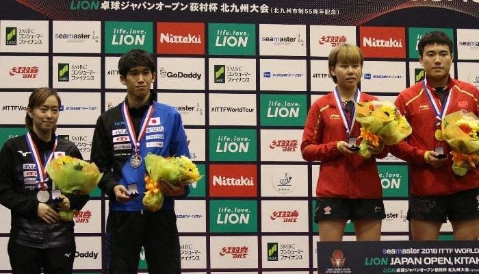 ライオン卓球ジャパンオープン荻村杯 大会4日目【PICK UP】混合ダブルス決勝・男女シングルス