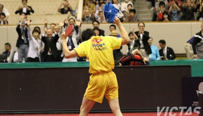 ライオン卓球ジャパンオープン荻村杯 最終日【PICK UP】男子シングルス準決勝