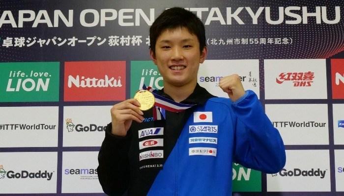 ライオン卓球ジャパンオープン荻村杯 最終日【PICK UP】男子シングルス決勝