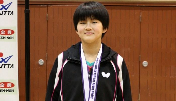 平成30年度 全日本卓球選手権大会(カデットの部) 14歳以下女子シングルス結果