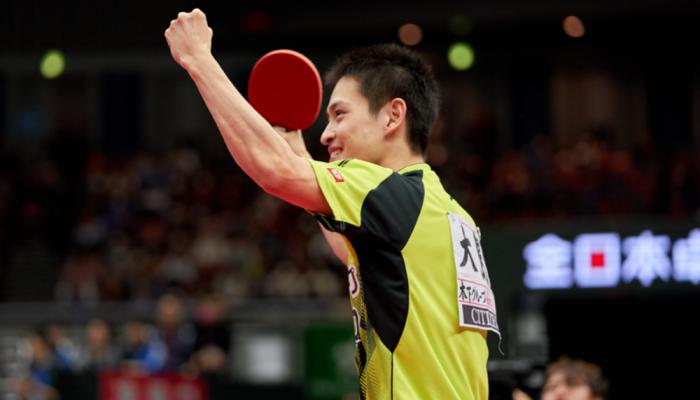 平成30年度全日本卓球/大会最終日 男子シングルス準決勝 結果