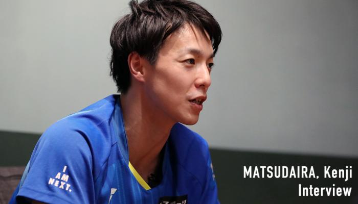 """""""卓球界を盛り上げて自分も強くなる"""" 松平賢二30歳、たどり着いたシンプルな答え"""