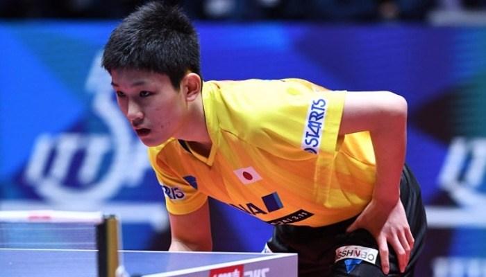 予選リーグを戦い終えた張本智和。「点数は70点くらい」