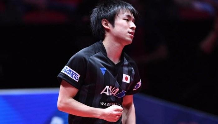 チームの勝利を決めた丹羽孝希「しっかり準備はしていました」