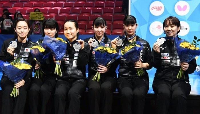 2018年世界卓球選手権団体戦 最終結果