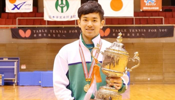 第85回 全日本大学総合卓球選手権大会(個人の部) 大会最終日 男子シングルス