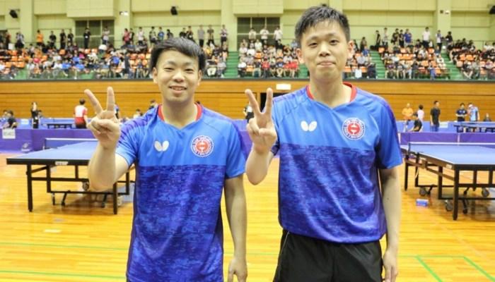 第53回全日本社会人卓球選手権大会 男子ダブルス