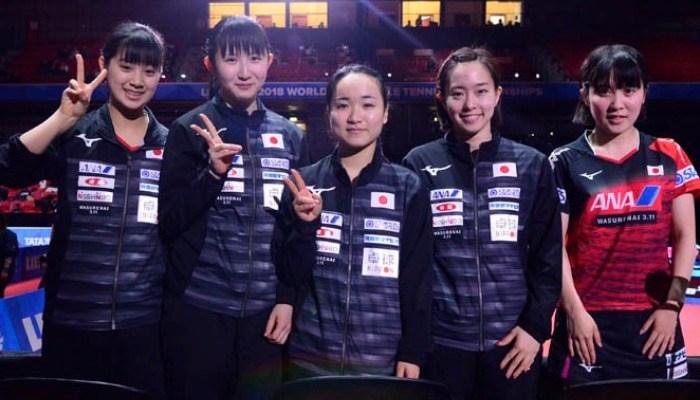 日本女子、ウクライナを3−0で破って4強。メダルが確定!