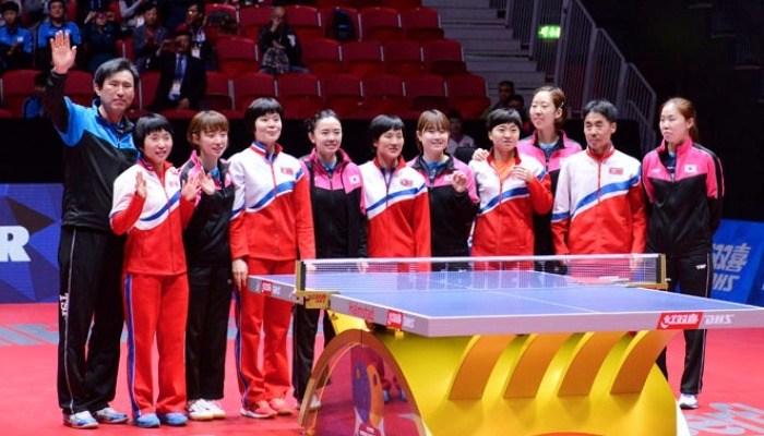 会場に衝撃!韓国と北朝鮮の女子チームが統一チームを結成