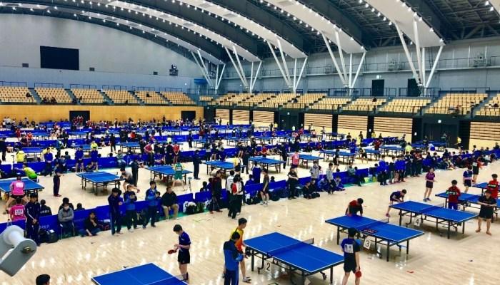 第25回高校オープン卓球研修会