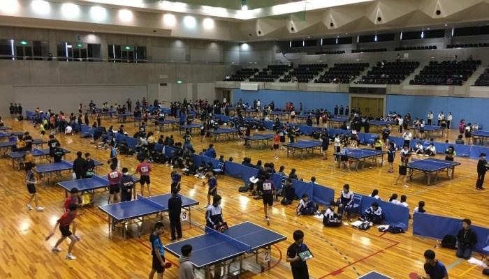 第18回中学オープン卓球研修会