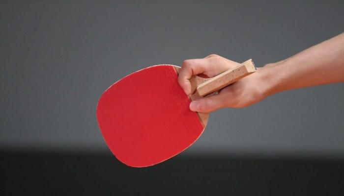 ラケットの削り方と握り方(ペンホルダー)