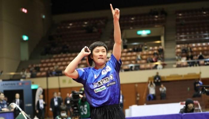 LIONカップ 第23回ジャパントップ12卓球大会 男子結果