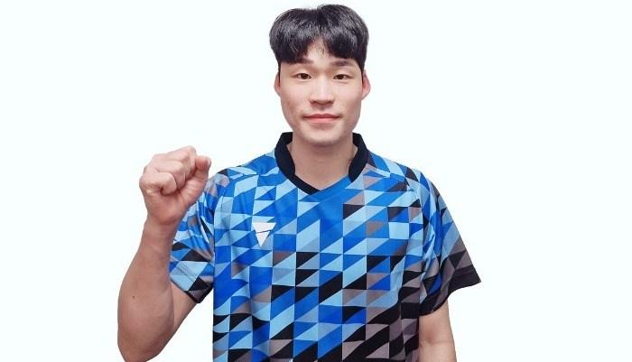 韓国男子代表  張禹珍選手とアドバイザリー契約を更新