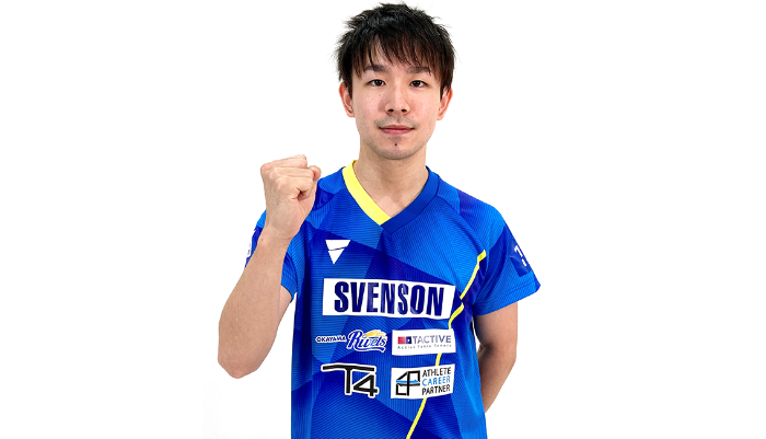 丹羽孝希選手とアドバイザリー契約を更新 VICTAS 卓球 男子日本代表