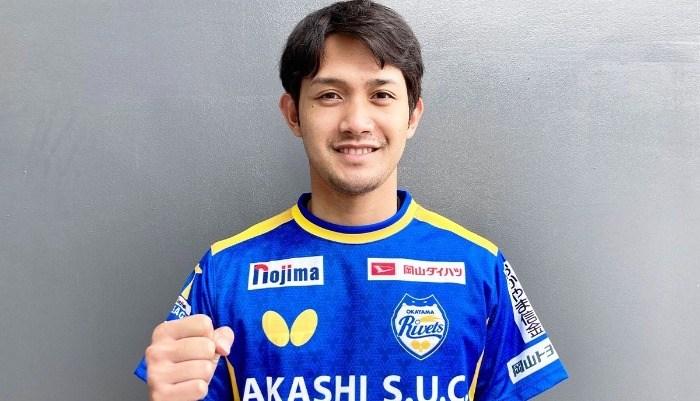卓球男子ナショナルチーム候補 吉村和弘選手が岡山リベッツと所属契約