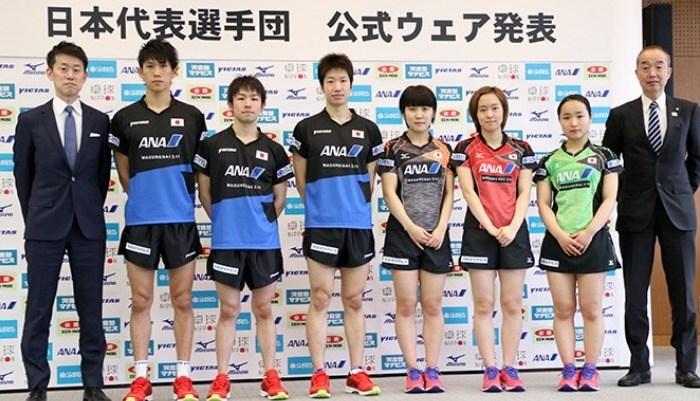 日本代表選手団 公式ウェア発表