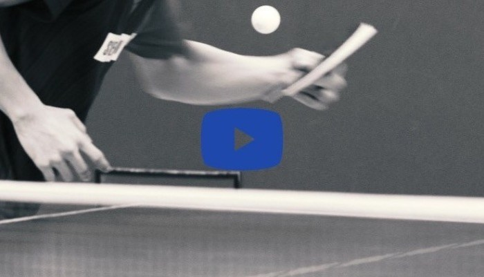 【Technique Video】Koki Niwa's Forehand service vol.3 (Side-back spin)