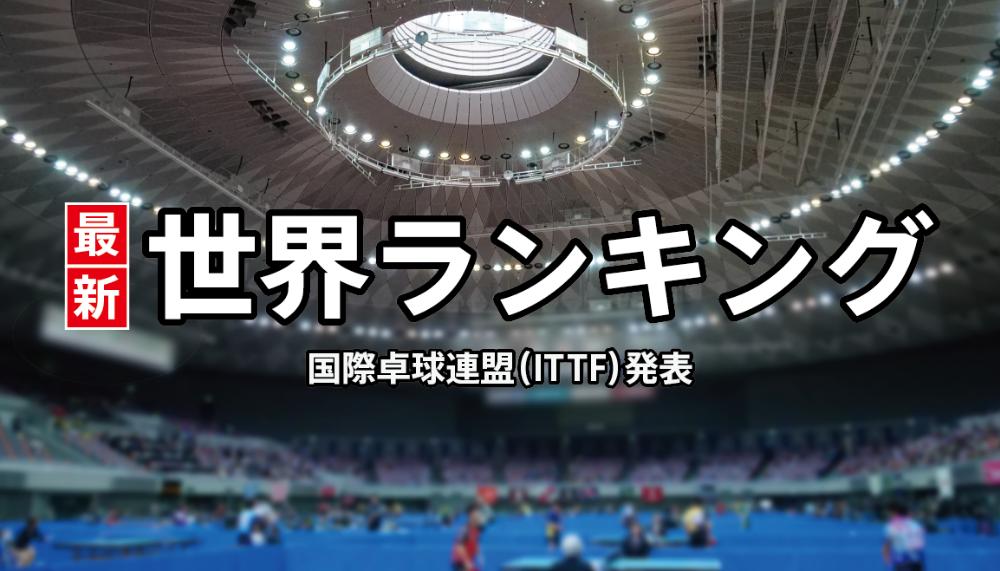 卓球 男子世界ランキング(男子総合/男子U-21) 2020年4月
