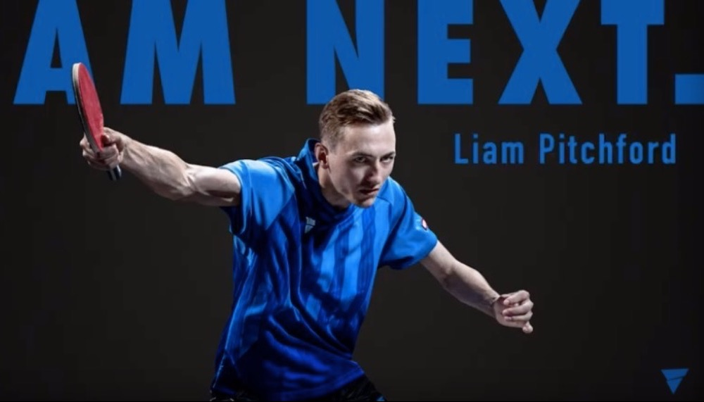 Introduction Video of Liam Pitchford by VICTAS Team VICTAS