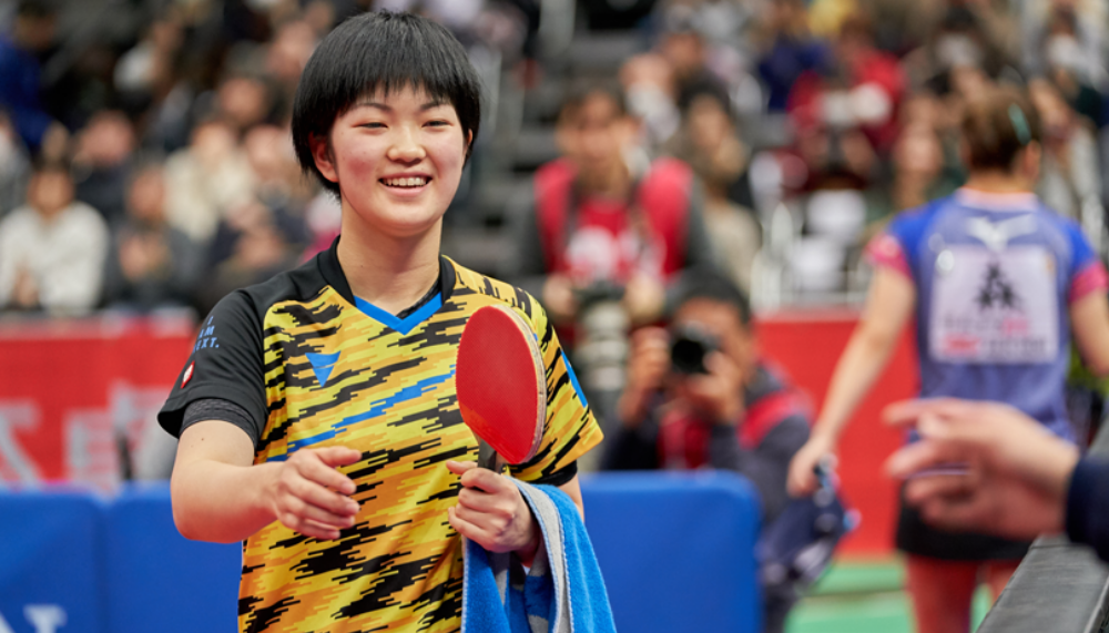 平成30年度全日本卓球/大会最終日 女子シングルス準決勝 結果