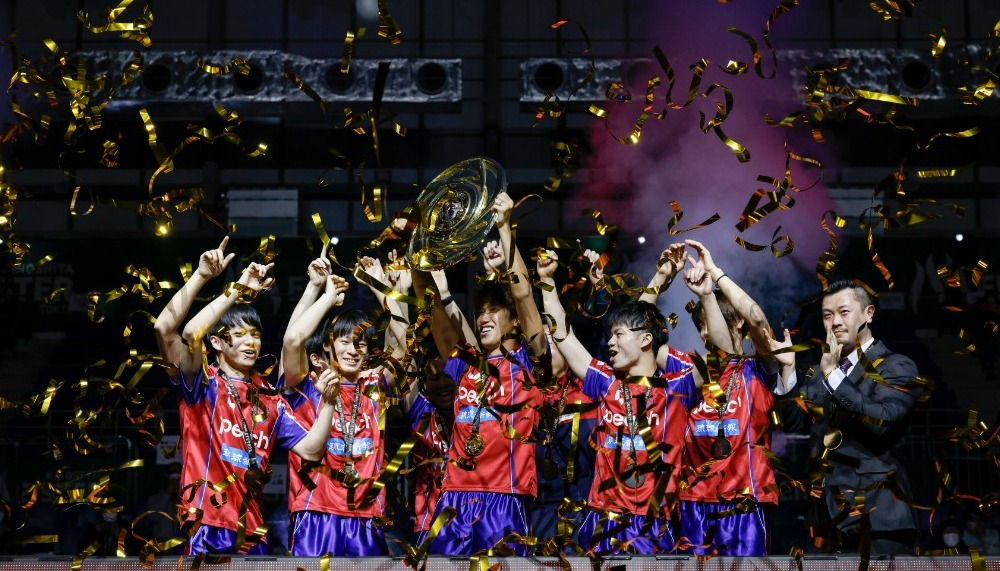 【卓球・Tリーグ】男子プレーオフファイナルは琉球アスティーダが初優勝を果たす