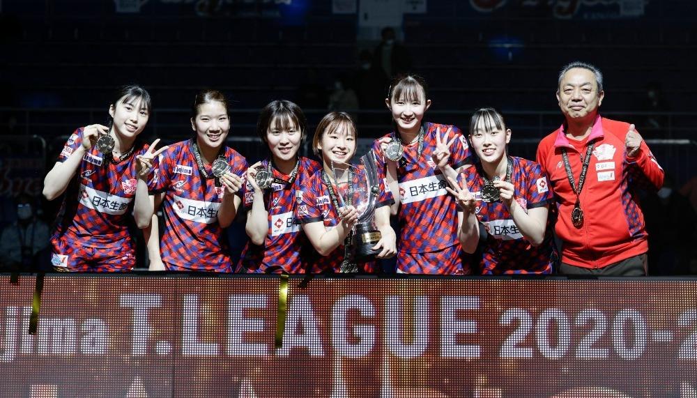 【卓球・Tリーグ】女子プレーオフファイナルは日本生命レッドエルフが3連覇を果たす