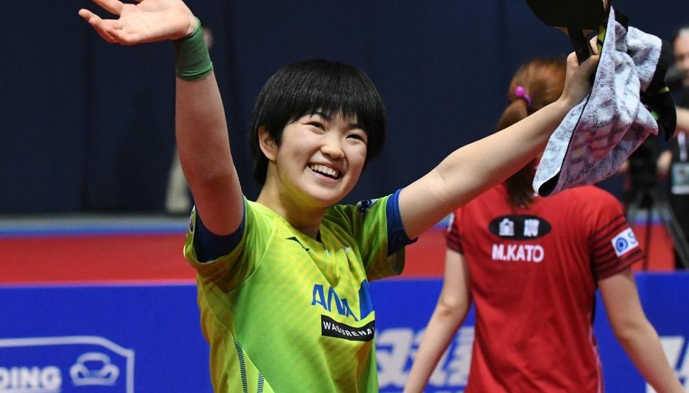 木原美悠選手 ITTFチャレンジ・クロアチアオープン14歳278日での史上最年少2冠達成!