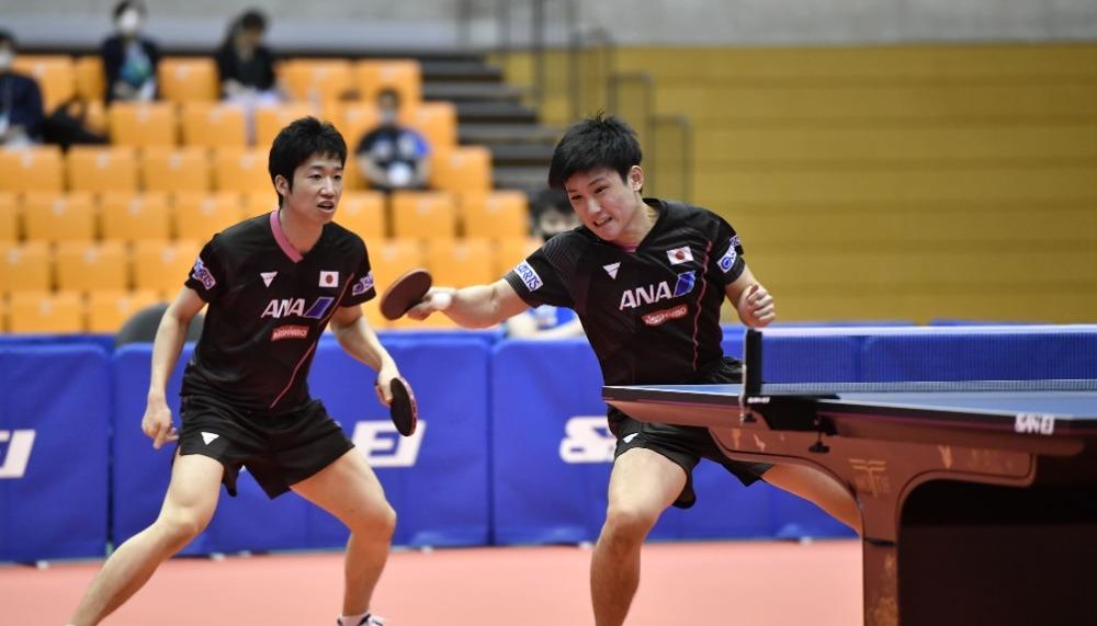 東京五輪壮行試合、2021卓球NIPPONドリームマッチが開催。水谷・張本ペアが登場。
