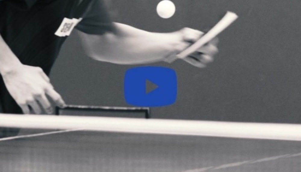 【Technique Video】Koki Niwa's Forehand Service  video vol.3(Side-back spin)