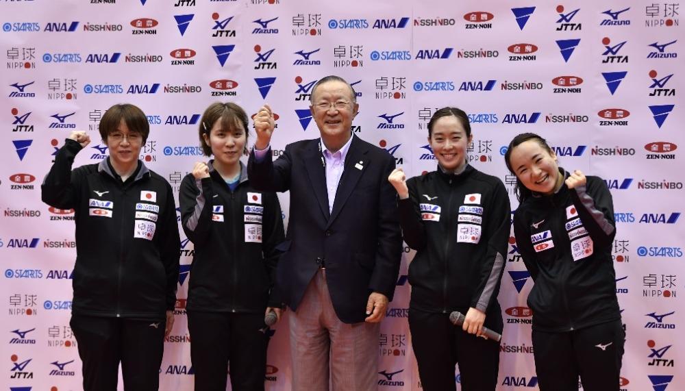 東京五輪壮行試合、2021卓球NIPPONドリームマッチ女子は、日本代表が5-0の快勝。