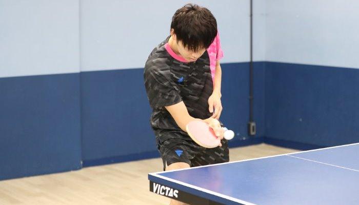 卓球 ツッツキ 技術 練習 回転 試合 上達 下回転 VICTAS 卓球総研