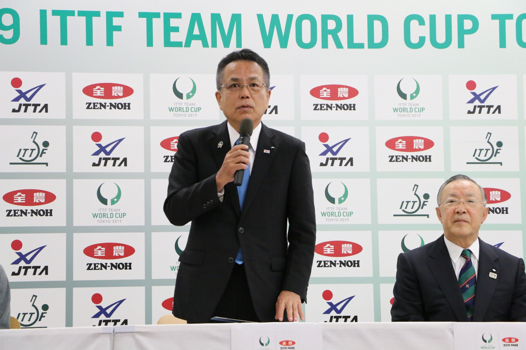 JA全農 チームワールドカップ 東京大会 開催記者発表 会見 神出元一