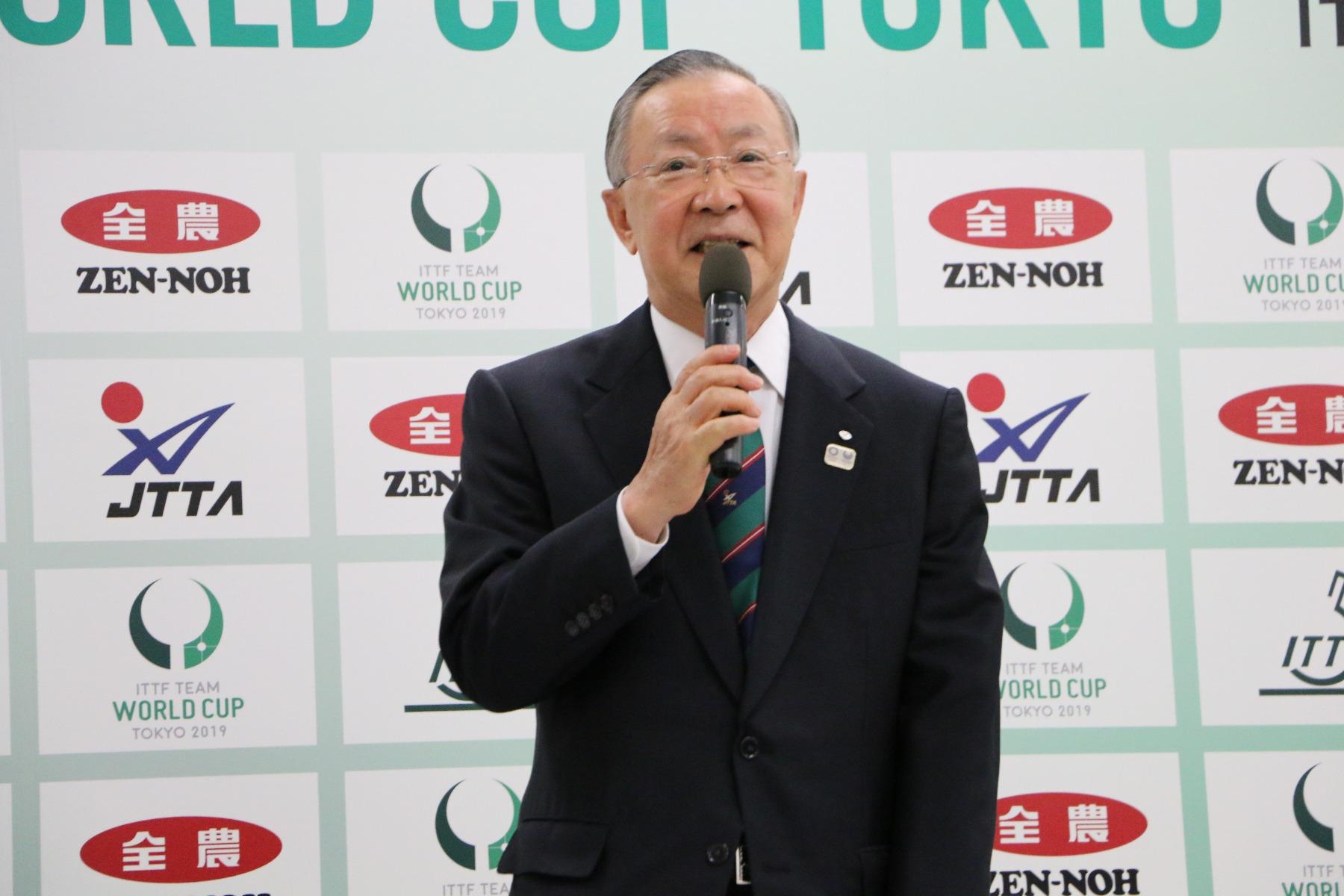 JA全農 チームワールドカップ 東京大会 開催記者発表 会見 藤重貞慶