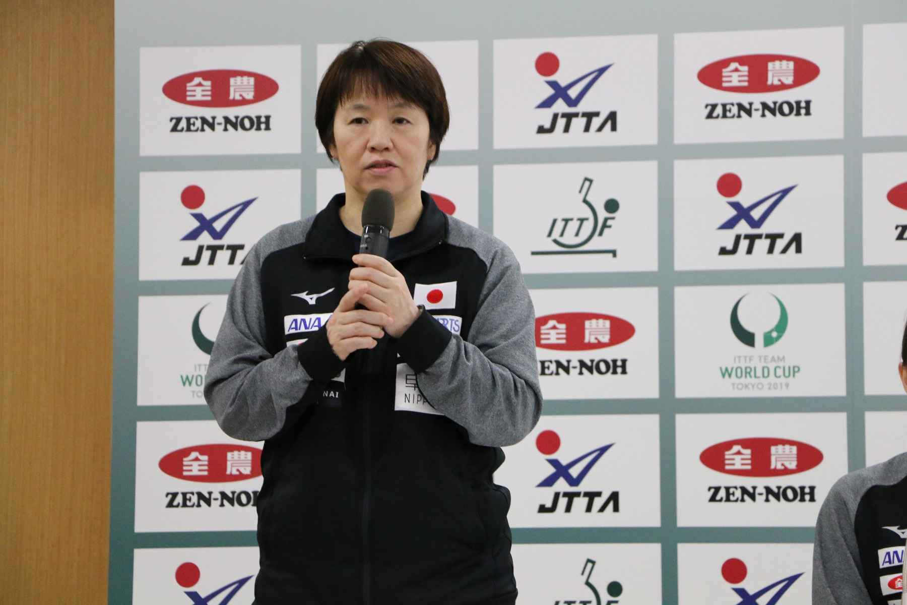 JA全農 チームワールドカップ 東京大会 開催記者発表 会見 馬場美香
