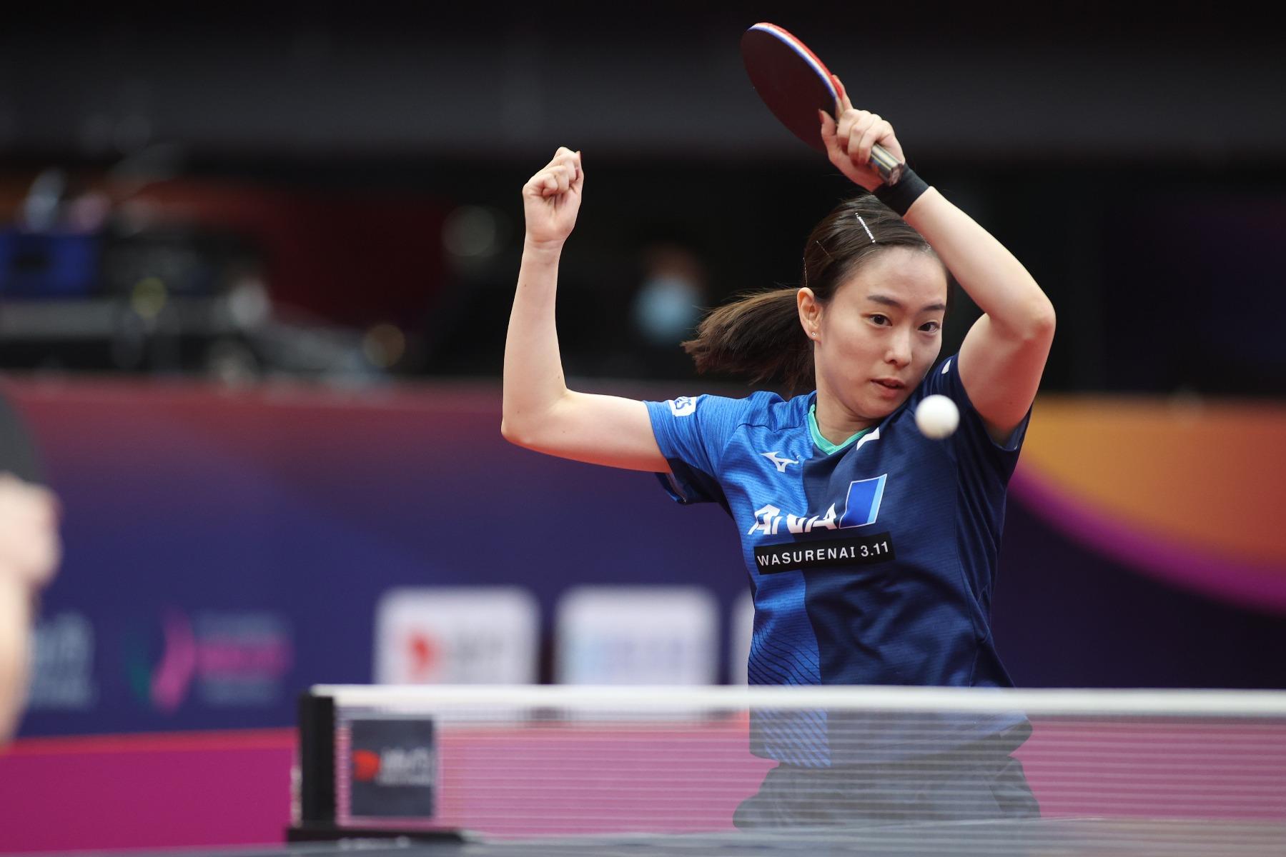 VICTAS VICTAS JOURNAL 卓球 2020女子ワールドカップ 石川佳純