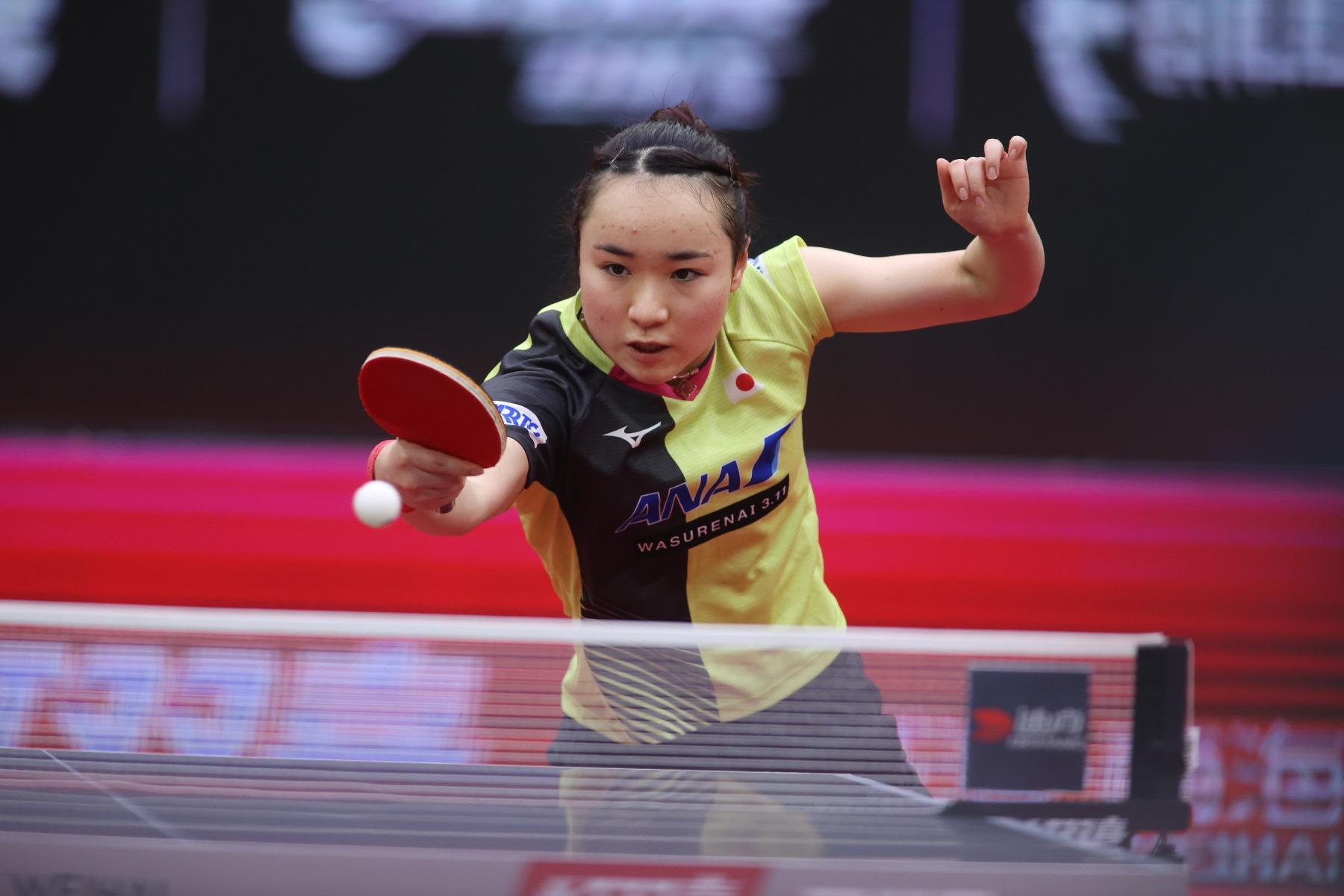 VICTAS VICTAS JOURNAL 卓球 2020女子ワールドカップ 伊藤美誠