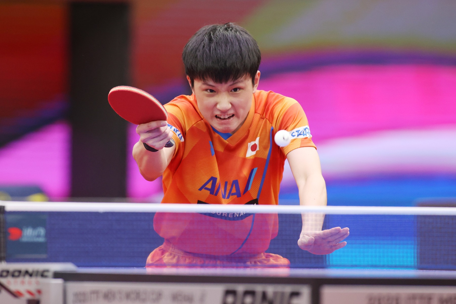 VICTAS VICTAS JOURNAL 卓球 ITTF2020男子ワールドカップ 張本智和
