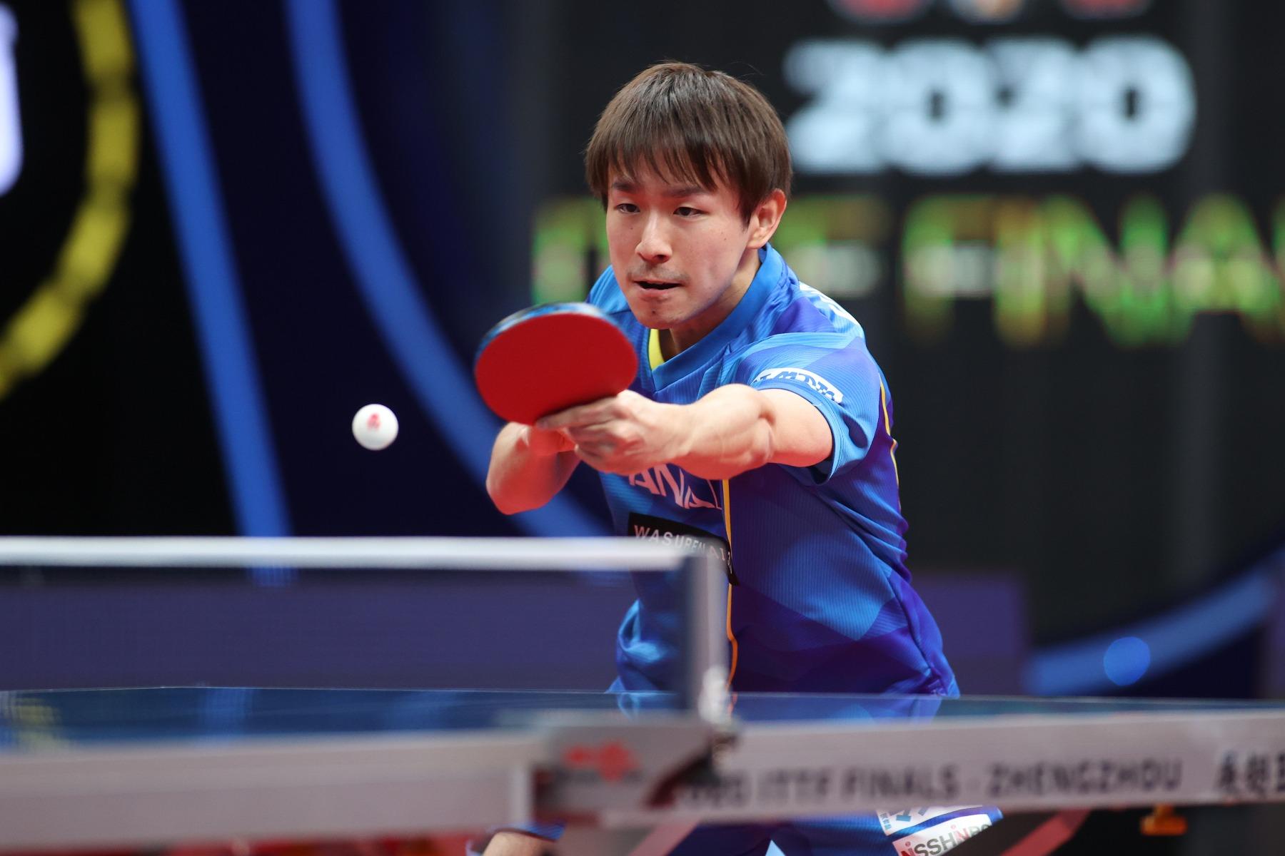 VICTAS VICTAS JOURNAL 卓球 ITTFファイナルズ 男子 丹羽孝希