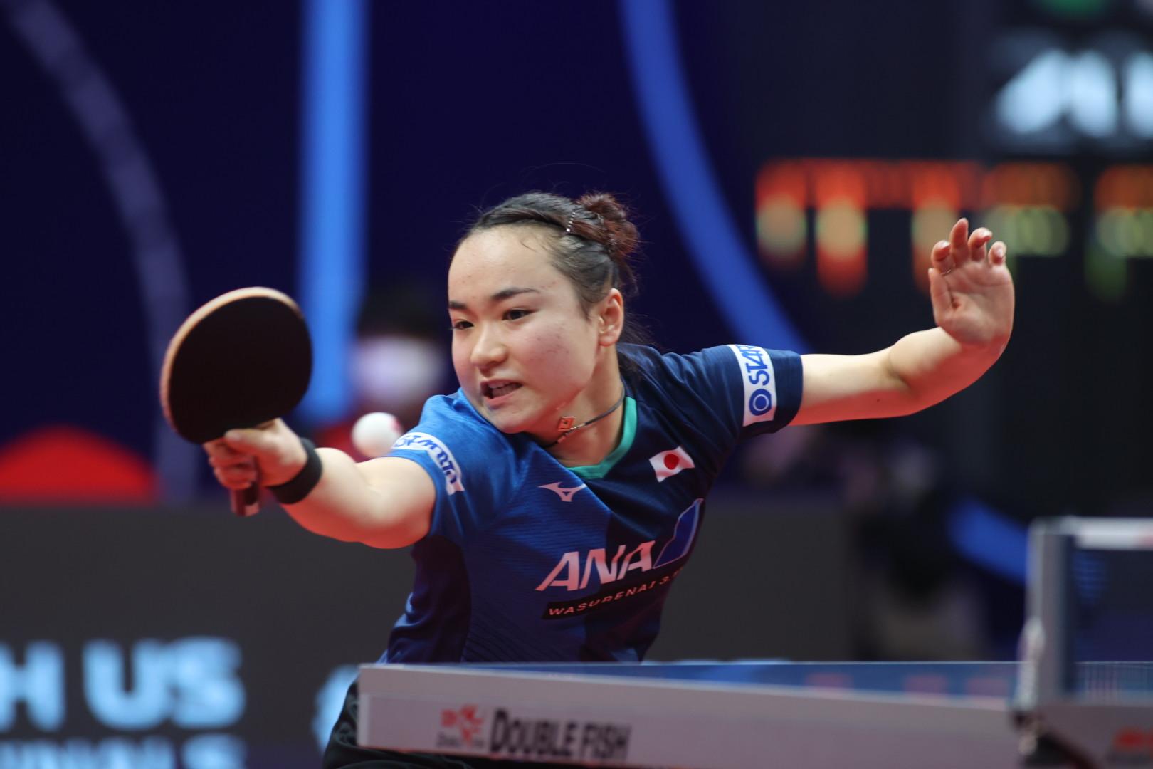 VICTAS VICTAS JOURNAL 卓球 ITTFファイナルズ 女子 伊藤美誠