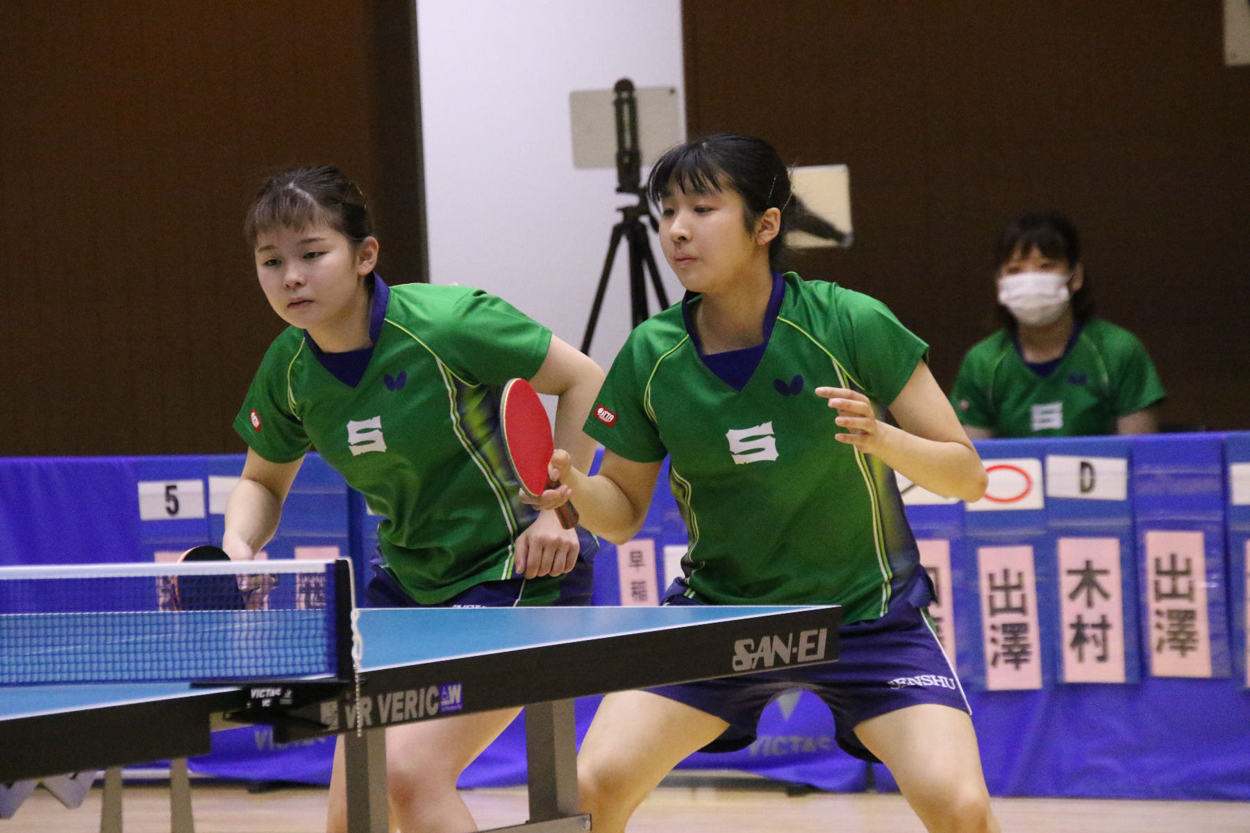 VICTAS ヴィクタス VICTAS PLAY ヴィクタスプレイ 卓球 インカレ 全日本大学総合卓球選手権大会