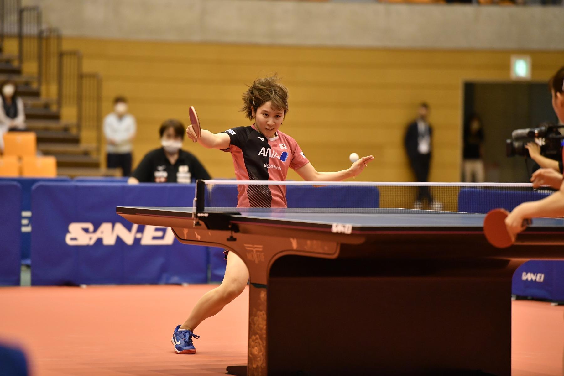 VICTAS ヴィクタス VICTAS PLAY ヴィクタスプレイ 卓球 VICTAS JOURNAL 東京五輪壮行試合、2021卓球NIPPONドリームマッチ女子は、日本代表が5-0の快勝。