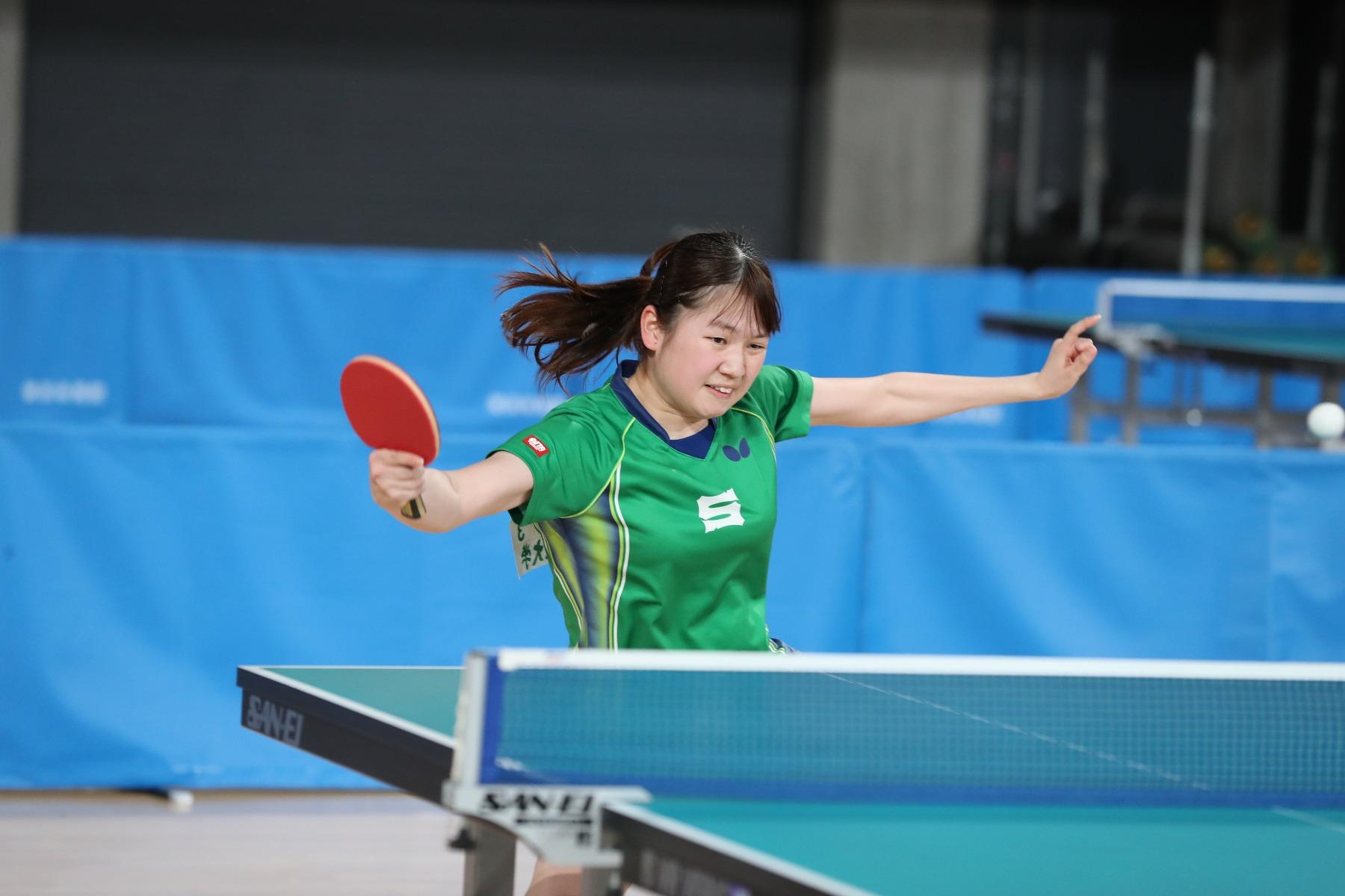 VICTAS VICTAS JOURNAL 卓球 東京優勝大会 女子シングルス 3位 大島奈々