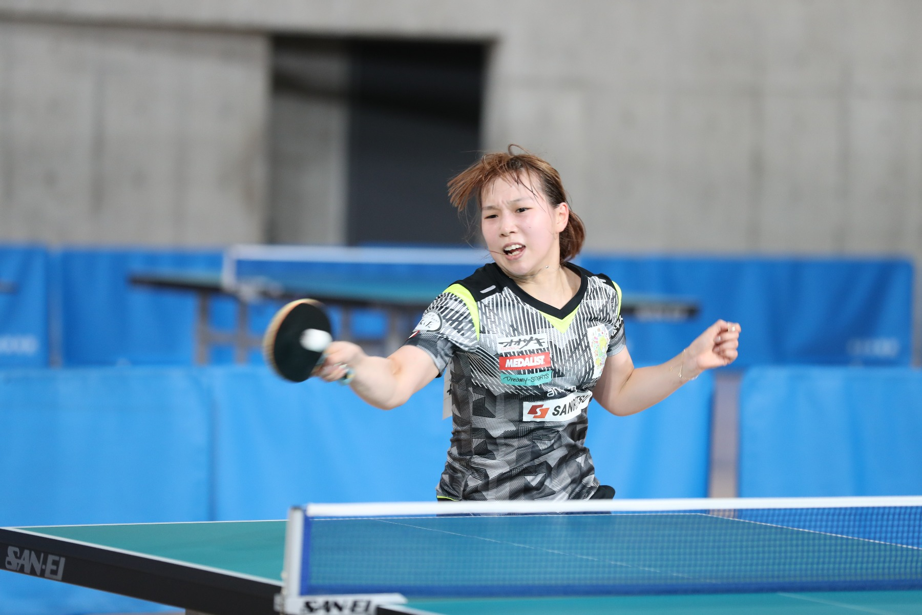 VICTAS 卓球 VICTAS JOURNAL 東京優勝大会 女子シングルス 優勝 松平志穂