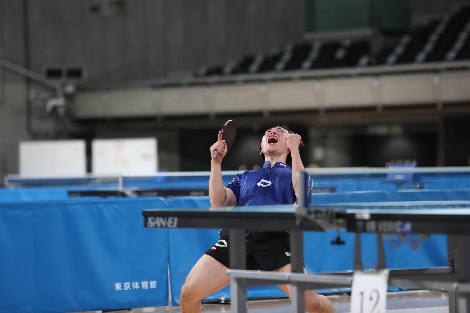 VICTAS VICTAS JOURNAL 卓球 東京優勝大会 男子シングルス 優勝 小野寺翔平