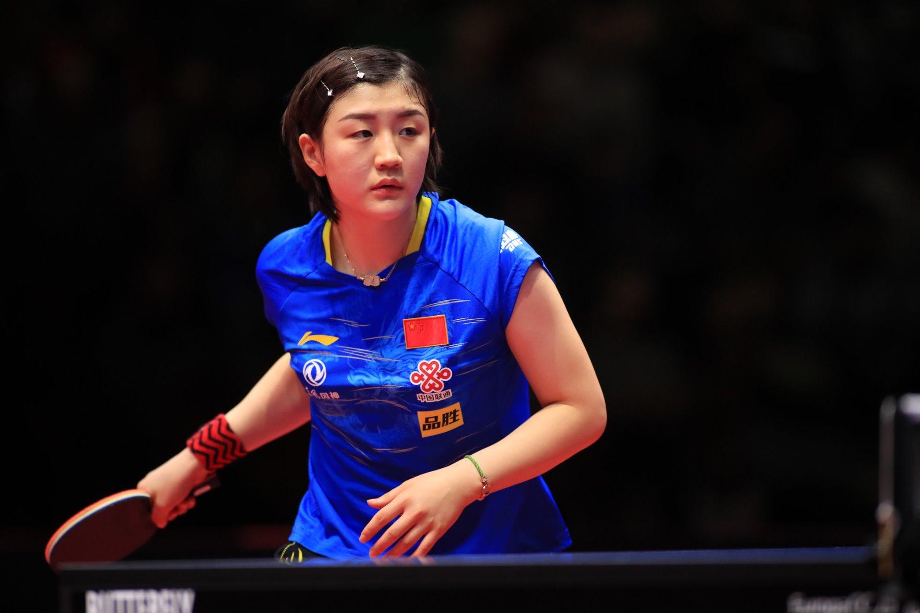 2020 German Open Xu Xin Chen Meng Are The Winners Victas Journal
