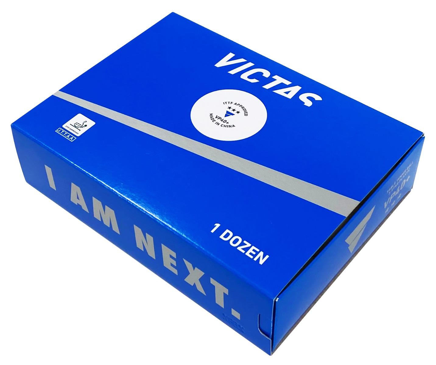 VICTAS 卓球 ボール VP40+3スター 1ダース入 3スターボール 公認球 トレーニングボール
